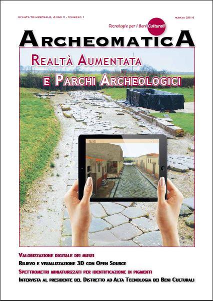 In copertina un'immagine in realtà aumentata del Parco Archeologico dell'Alto Adriatico, progetto finanziato dal Programma per la Cooperazione Transfrontaliera Italo-Slovena 2007-2013.